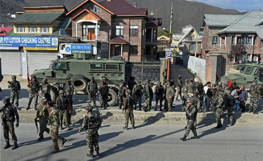 Curfew continues on 14th day in IOK