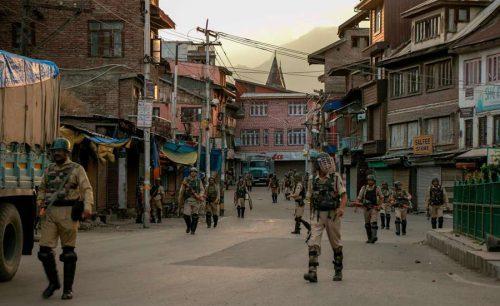 curfew IoK Indian occupied Kashmir Indian held Kashmir medicines food miserable