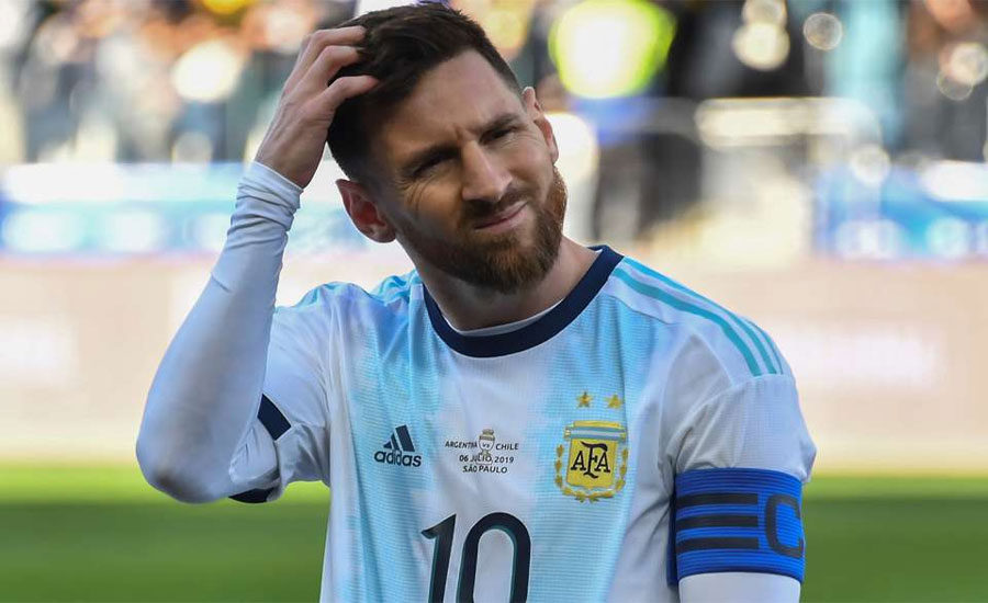 Argentina's Lionel Messi banned from int'l football for 3 months