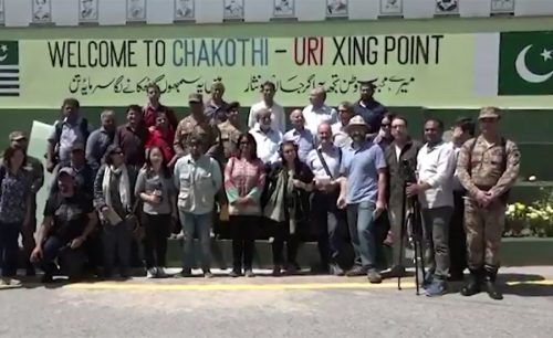 Foreign, media, correspondents, LoC, briefed, Indian, ceasefire, violations, ISPR