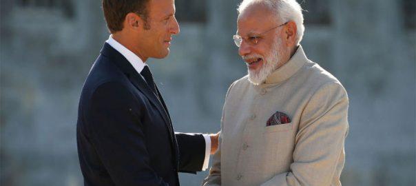 Macron-Modi-Kashmir