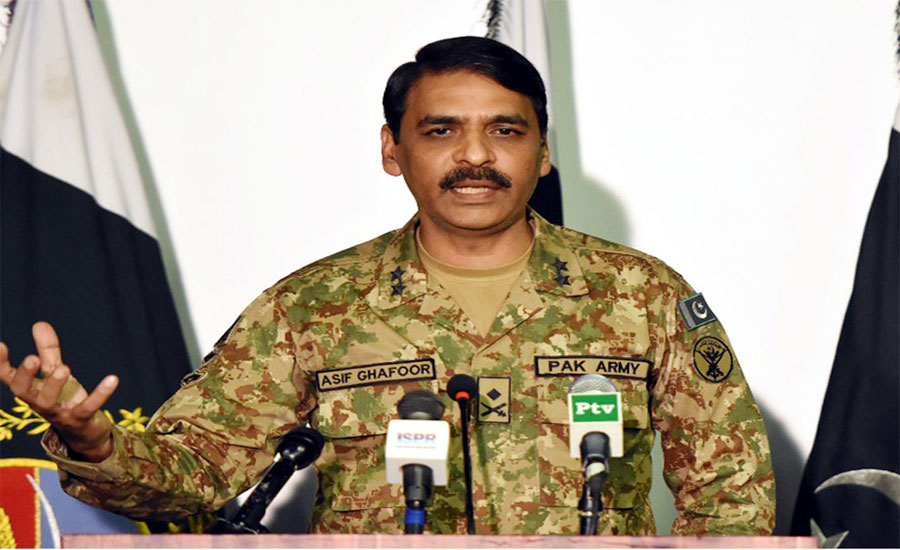 We'll fight for Kashmir till last soldier and bullet, affirms Asif Ghafoor