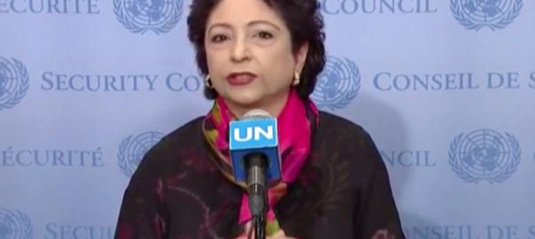 Maleeha UN IoK Indian occupied kashmir UNICEF's Deputy Executive Director Hannan Sulieman UN Security Council (UNSC) President Joanna Wronecka Under-Secretary-General for Humanitarian Affairs Mark Lowcock