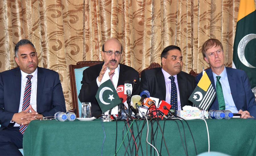 Modi robbed Kashmiris of their rights, says AJK president Sardar Masood