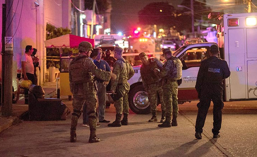 At least 23 killed in fire at Mexico bar: media reports