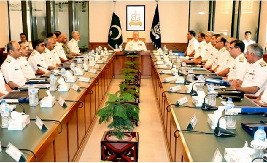 Pak Navy's Command and Staff Conference reviews operational preparedness