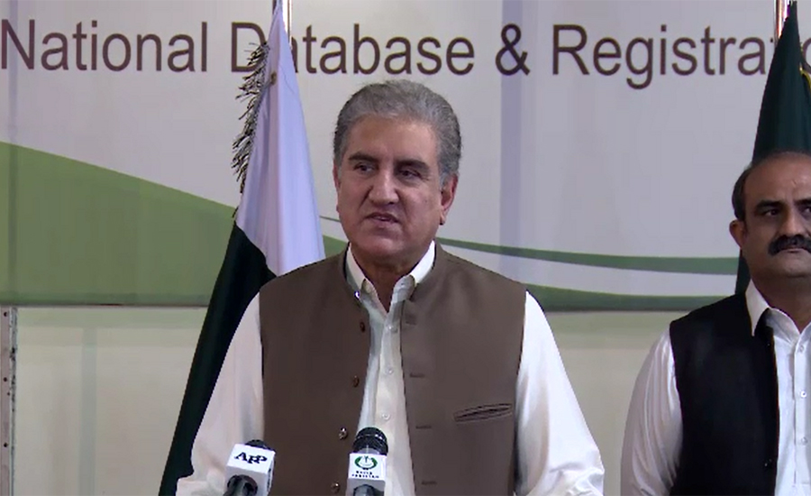 FM Qureshi writes 4th letter to UNSC president, briefs about lockdown in IOJ&K