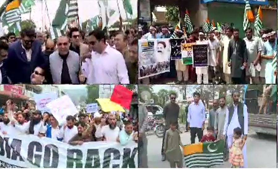 Rallies taken out to express solidarity with Kashmiris across country