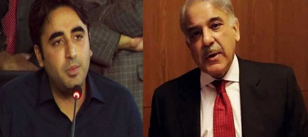 Senators Shehbaz sharif bilawal bhutto sadiq sanjrani no confidence motion senate chairman