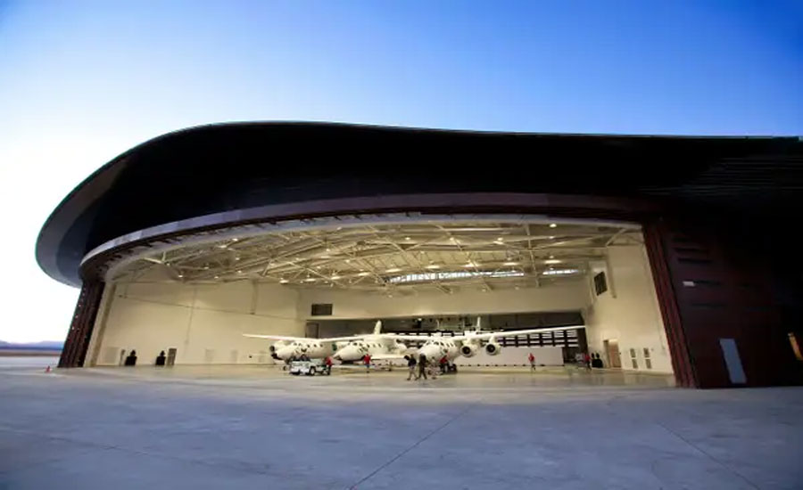 British company Virgin Galactic announces world's first tourist spaceport is up and running