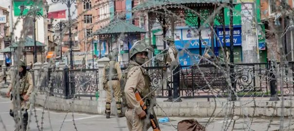 Curfew indian held Jammu Kashmir IoK all parliamentry group jail occupied kashmirNYT New York Times Indian occupied kasjmir special status Indian government