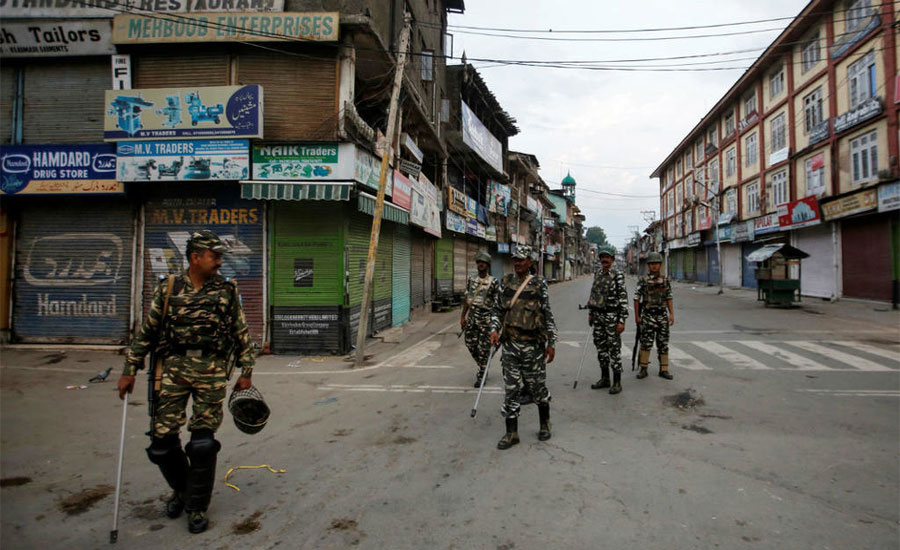 BBC journalist exposes Indian govt's ugly face over IoK lock down