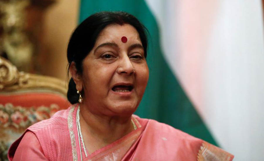 Former Indian external affairs minister Sushma Swaraj passes away at 67