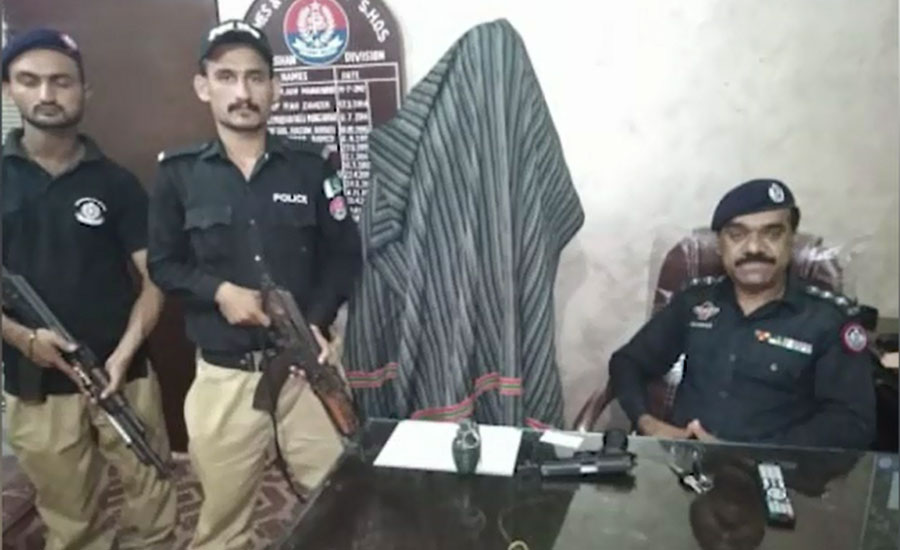 Target killer affiliated with political party arrested in Karachi