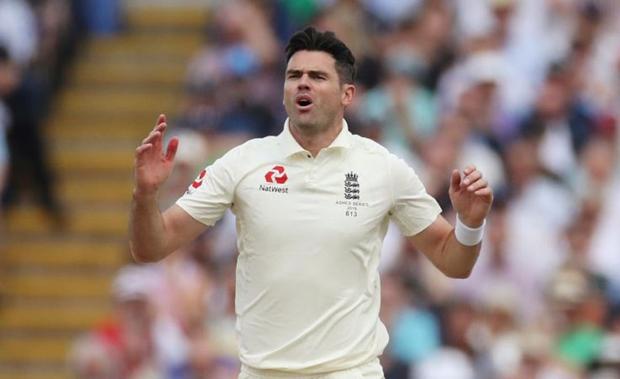 England's Anderson ruled out of second Ashes Test