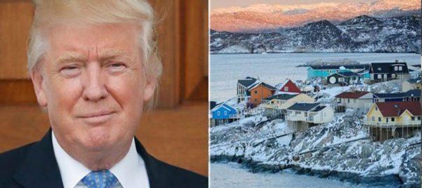 Greenland, Trump