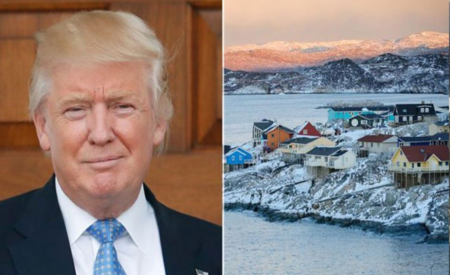 Trump expresses serious interest in buying Greenland: report
