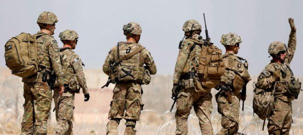 Troops initial deal Taliban US troops withdraw Afghanistan