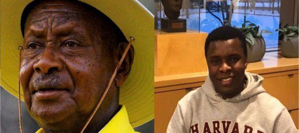 Ugandan-president-Havard-st