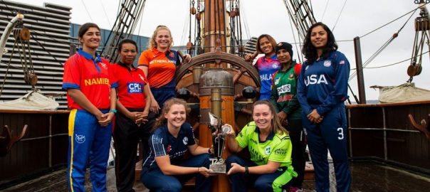Women's T20 World Cup Capitans Women t20 world Cup qualifier ICC