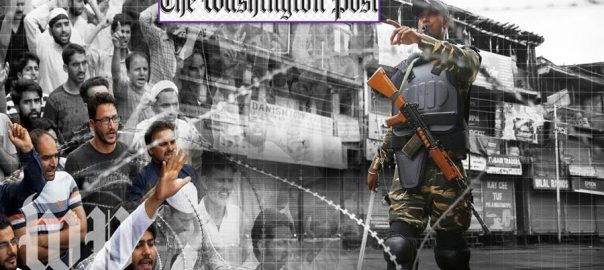 Ground situation IoK Inidan occupied Kashmir Washington Post Indian claimes contradicts Jammu kahsmir Acting Indian HC Indian stance normalcy
