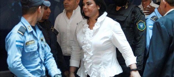 wife Honduran President