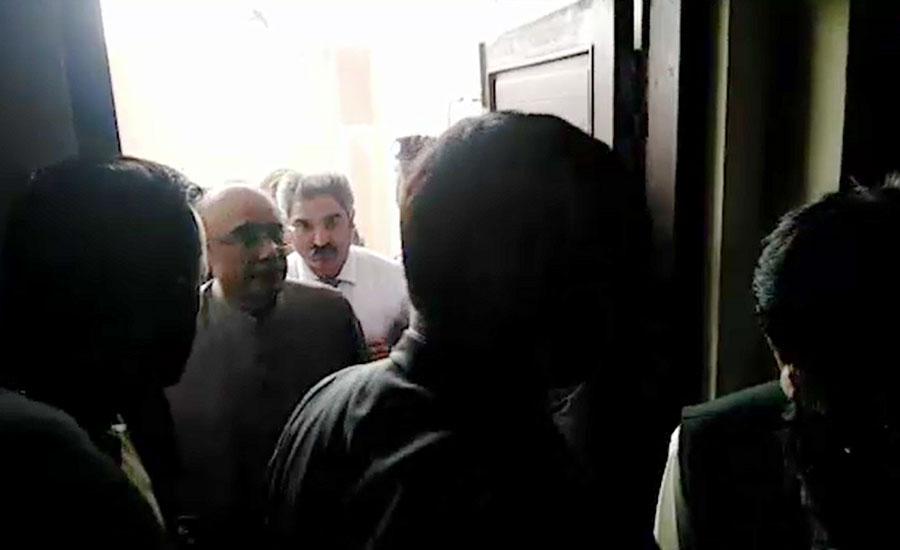 AC sends Zardari to Adiala jail on judicial remand
