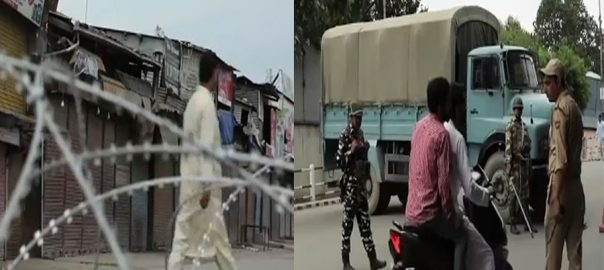 Lockdown curfew Indian occupied Kashmir occupied valley Indian held Jammu kashmir 22nd day