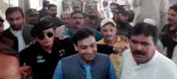 court hamza shebaz judicial remand Punjab Assembly