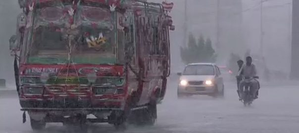 rain karachi streets vehicles bikes cars areas
