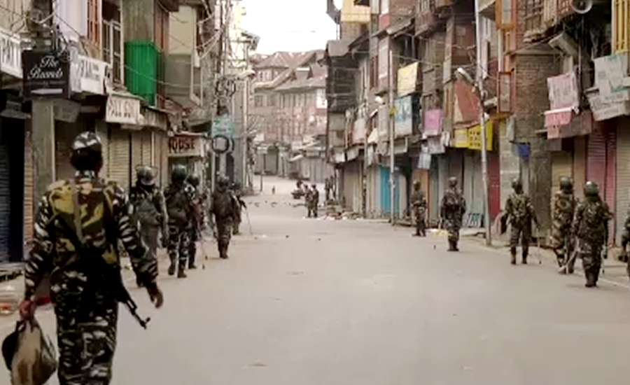 IoK: Curfew, communication blackout enter in third week