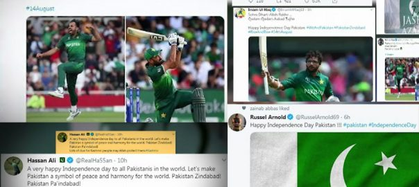 players cricketers Pakistan Independence day happy independence day