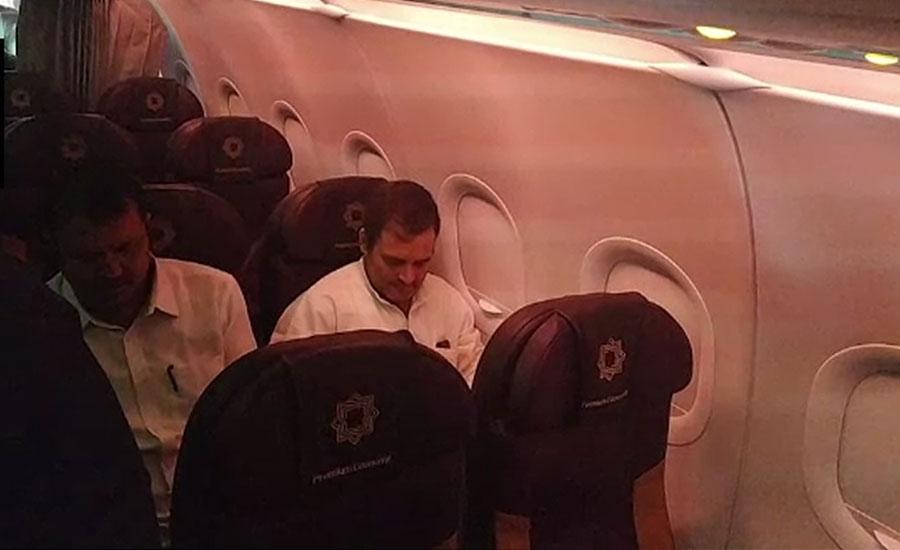 Rahul Gandhi-led opposition delegation forcibly sent back from Srinagar airport