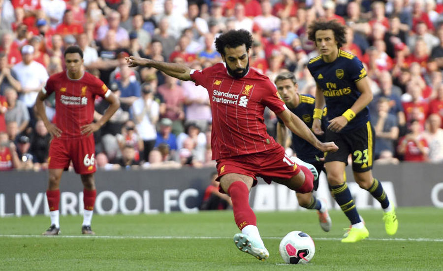 Salah at the double as Liverpool dispatch Arsenal