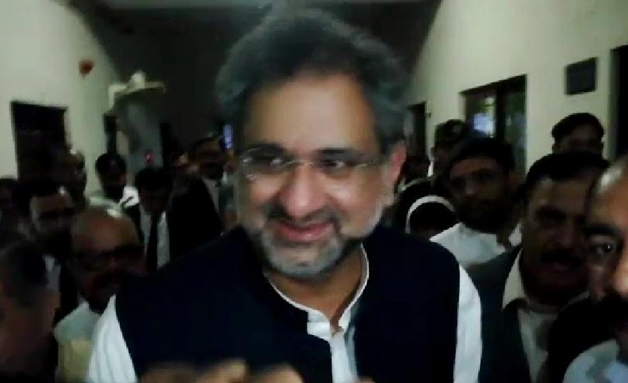 Khaqan Abbasi's physical remand extended till Aug 15