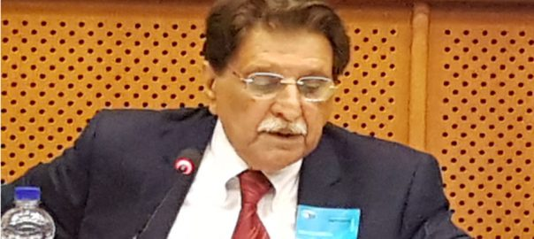 AJK AJK PM Azad jammu Kashmir Raja Farooq Haider US House Committee US House Committee on Foreign Affairs EU parliament committee