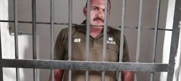 ASI, arrested, misbehaving, elderly, woman, IGP Office