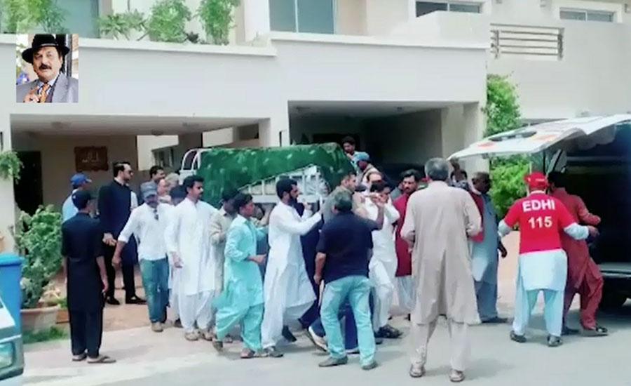 actor abid actor abid ali renwoned actor laid to rest karachi funeral prayers