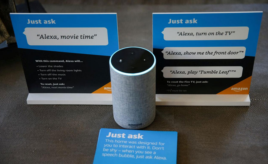 Alexa Alexa digital assistant US presidential candidate donation campaign