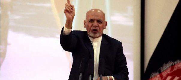 Afghan president, Ashraf Ghani, renews, peace, ceasefire