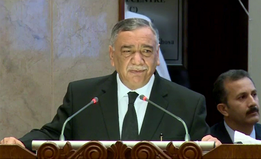 Chief Justice Asif Saeed Khosa says change always faces resistance