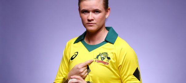 Jonassen Australian players 4th position Women T20 rankings bowlers
