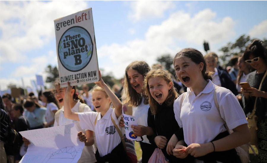 Australian students global climate strike global climate kick off