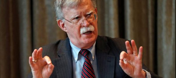 Trump, fires, national, security, adviser, John Bolton, disagreements
