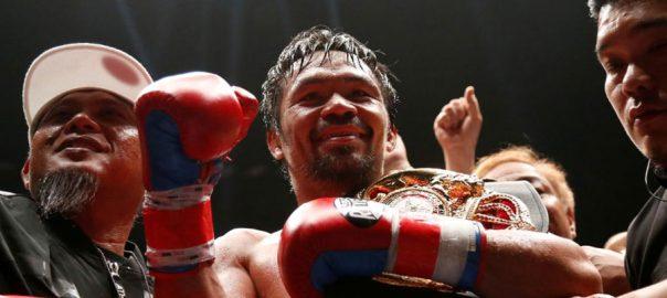 Pacquiao Boxing champ Baetiong