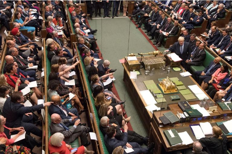 MPs back bid to block no-deal Brexit amid election haggling