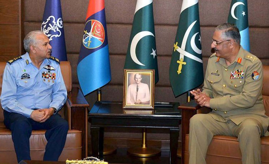 Air Chief CJCSC defend country airspace aggression PAF pakistan Airforce
