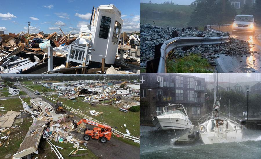 Hurricane Dorian hits Canada's city of Halifax
