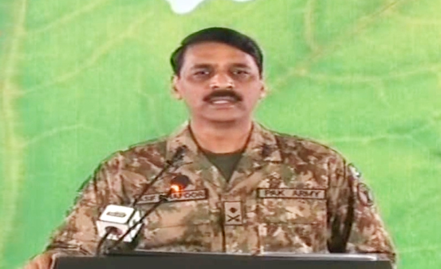 Indians have no grounds to support their COAS' false claim: DG ISPR