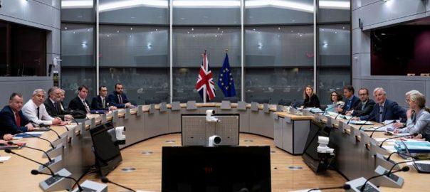 Britain, EU, spar, Brexit, clock, ticks down